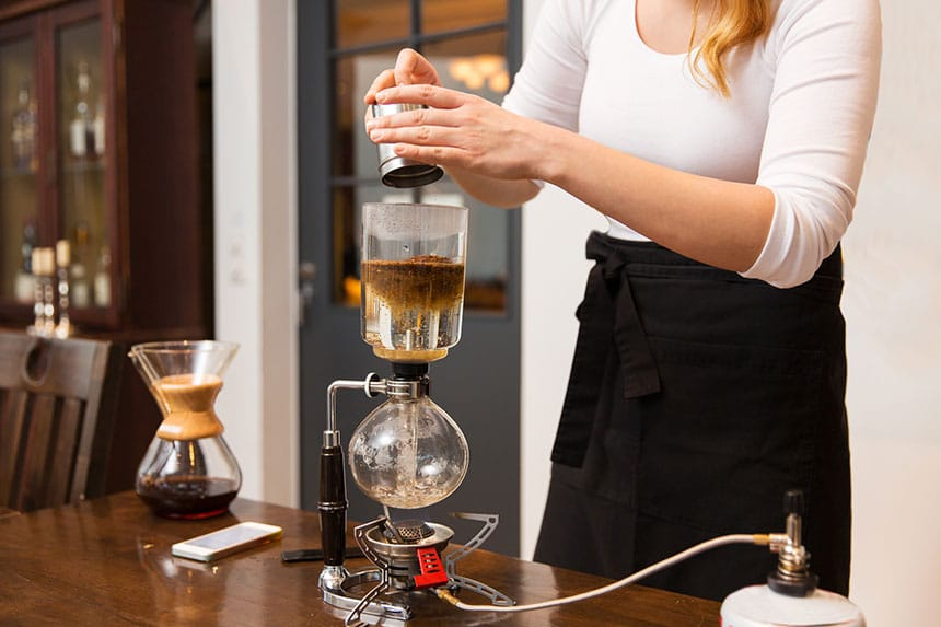 siphon coffee brewers and makers